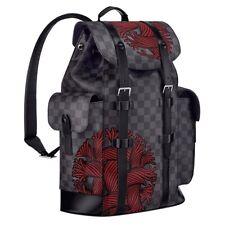 NUOVO Autentico Louis Vuitton Christopher Nemeth Limited Edition Zaino Borsa RARO