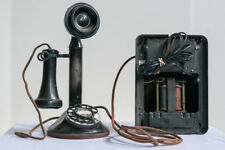 Vintage Western Electric Candlestick Phone w/ Ringer Box