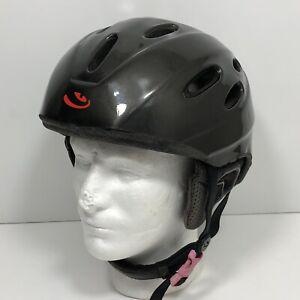 Giro Nine 9 Snowboard Ski Helmet Adult Size XL Black Goggle Chin Strap Padded