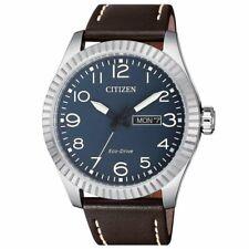Citizen Eco-Drive Men's Blue Dial Calendar Window 42mm Watch BM8530-11L