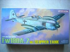 DRAGON-1/48-#5545- FW190 A-7 W/SLIPPER TANK