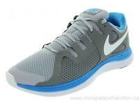 Nike Men's Lunarflash+ Running Shoes Size:11 Grey/White/Cl Grey/Bl Hr 580399 004