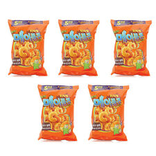 Korean famous caramel Maple Corn Snack coated with maple syrup_5pcs,154g