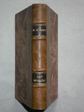 M. Corday - Les Révélées + Mariage de demain - 2 Romans - 1917 Dos cuir