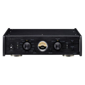 TEAC PE-505 Phono Stage - Black Compact Pre Amp for MM MC
