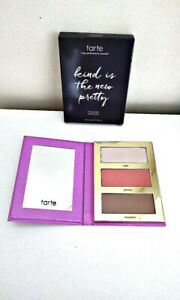 Tarte Cheek Palette Kind Is The New Pretty Blush Highlighter Bronzer 3 shade