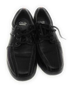 Men Clarks Cotrell Walk 26119725 Black Lace-up Shoes