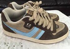 Globe Skate Shoe Us Size 9 Uk 5.5 Eor 40.5 Cm 25.5 Great Shoes brown tan blue