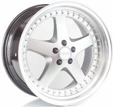 ESR SR04 19X10.5 5x120 +22 Hyper Silver/Mach Lip Wheels (Set of 4)