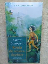 Ronja de roversdochter - Luisterboek 5 CD's Astrid Lindgren - in seal