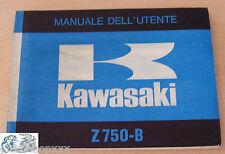 Kawasaki Manual Dell'Usuario Z750-B