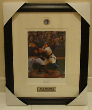 1992 WS MVP Pat Borders Signed Lithograph Toronto Blue Jays Ltd Ed #'d /20 Frame