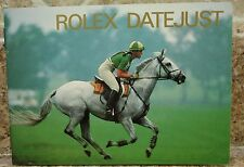 Vintage 1988 Genuine Rolex Datejust Booklet USA 16234 69178 69173 68278  16248