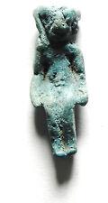 Zurqieh - Sc583 - Ancient Egyptian Faience Horus Amulet, 1075 - 600 B.C