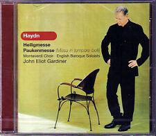 John Eliot GARDINER HAYDN Paukenmesse Heiligmesse CD Sara Mingardo Topi Lehtipuu