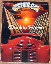 CUSTOM CAR Magazine May 1982 - Devon Van, Jules Holland's Buick, Lotus Esprit S3