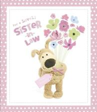 BOOFLE FOR A LOVELY SISTER IN LAW BIRTHDAY CARD NEW GIFT