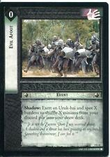 Lord Of The Rings CCG Card MoM 2.U41 Evil Afoot