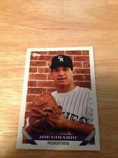 Topps 1993 Joe Girardi #425 Colorado Rockies Major Leagues Modern (1981-Now)