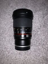 Rokinon 20mm f1.8 For Sony E Mount