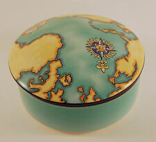 Gorgeous Tiffany & Co Porcelain Covered Candy Dish - Commemorative Tauck