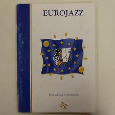 vocal score EUROJAZZ alan simmons + CD