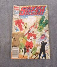 Marvel Comics Special Ed. SOVIET SUPER SOLDIERS in The Red Triangle Agenda 1992