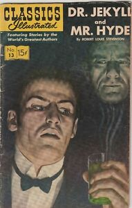 CLASSICS ILLUSTRATED #13 Dr. Jekyll & Mr. Hyde by R.L. Stevenson FN/FN+