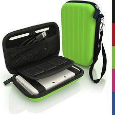 Grün EVA Hart Tasche Schutzhülle fur Neu Nintendo 3DS Etui Case Beutel Cover