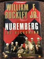 Nuremberg The Reckoning WWII Nazi Novel William F Buckley Jr Hardcover Book + DJ