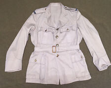 ROYAL AIR FORCE OFFICERS TROPICAL TUNIC WITH BELT AND RANK