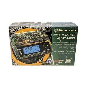 Midland AM/FM Weather Alert Radio Model WR-301 tornado other hazards Rare