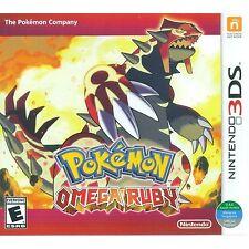3DS Games Pokemon Omega Ruby Brand New & Sealed