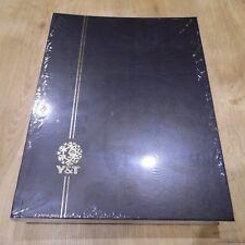 PROMOTION ALBUM NEUF NOIR YVERT ET TELLIER : CLASSEUR A4 de 16 PAGES