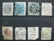 timbres Brésil : roi 1884 - 1888