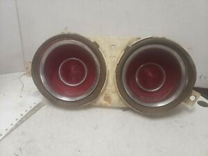 1972 chevrolet camaro rh tail light OEM