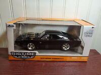 Jada Bigtime Muscle 1970 Dodge Charger R/T 1:24 Scale Diecast Mopar Hemi Car