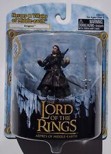 LOTR ARMIES OF MIDDLE EARTH. ARAGORN. HEROES & VILLAINS OF MIDDLE EARTH FIGURE
