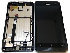 LCD Display Bildschirm Touch TouchScreen Digitizer Flex + Rahmen Asus Zenfone 5
