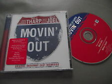 Movin' Out : Original Broadway Casting Album CD Twyla Tharp Billy Joel Uptown