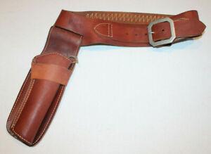vintage leather Hunter holster (1060 F13) & cartridge belt (152 Small)