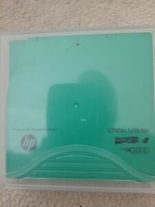 HP LTO-4 1.6TB Ultrium RW DATA Tape Cartridge (C7974A)