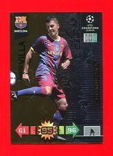 CHAMPIONS LEAGUE 2010-11 Panini 2011 -Card Champions- VILLA - BARCELONA