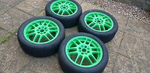 """4x100 Genuine Renault OZ F1 15"""" wheels - Clio 172,182,MK2,1.2"""
