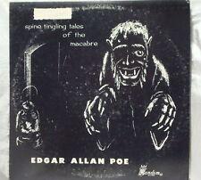 1960'S HORROR MAGAZINE RECORD LP POE BLACK CAT