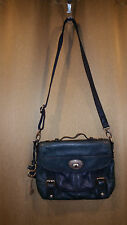 FOSSIL  MADDOX TOP HANDLE CROSSBODY SATCHEL LONG LIVE VINTAGE TEAL BAG