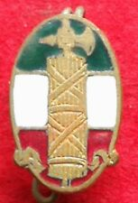 EARLY TYPE 1° PARTY ENAMELLED P.N.F. 1919/23 BADGE PARTITO NAZIONALE FASCISTA #7