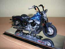 Maisto Harley-Davidson 2008 Flstsb Cross Bones Azul Oscuro Azul Oscuro, 1:18