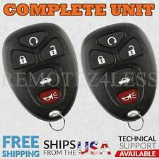 2 For 2005 2006 2007 2008 2009 Buick Allure 5b Keyless Entry Remote Car Key Fob