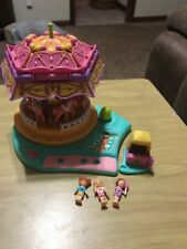 Polly POCKET Spin Pretty Carousel Complete